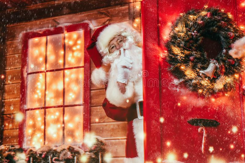 Grand secret de Noël photos stock