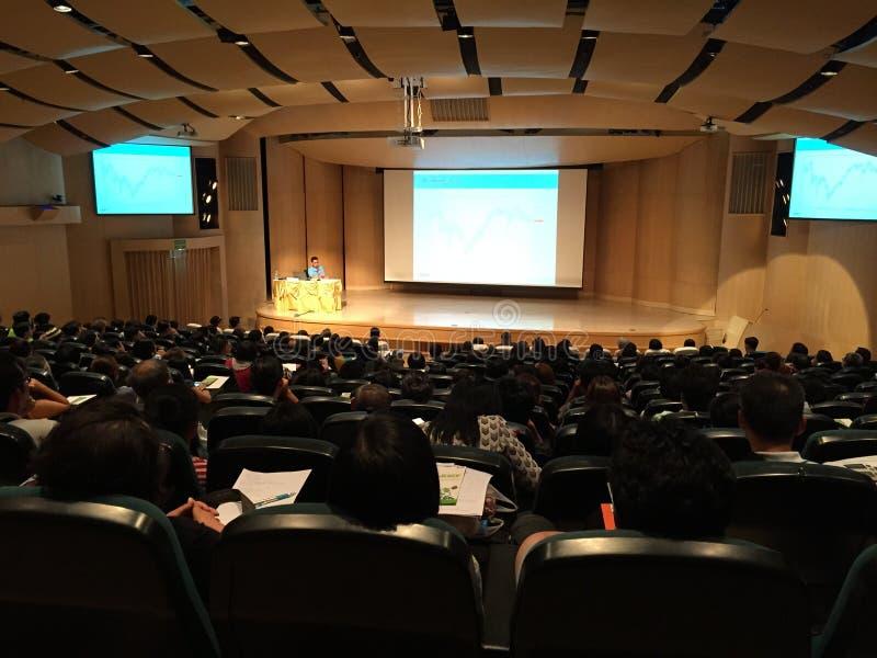 Grand seminar stock photo
