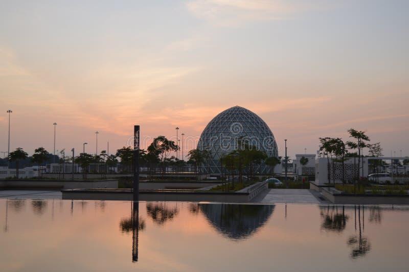 The grand Sheikh Zayed mosque in Abu Dhabi UAE. The grand Sheikh Zayed mosque domes and pillars in UAR Abu Dhabi royalty free stock image