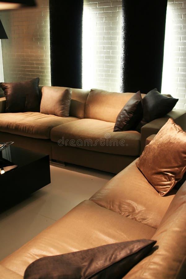 Grand sofa photographie stock