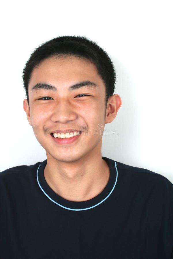Grand sourire ! photo libre de droits