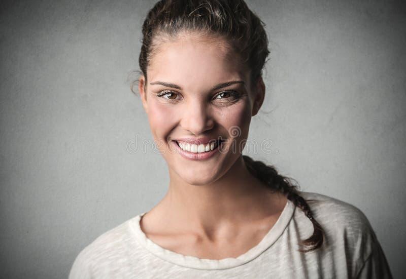 Grand sourire photo libre de droits