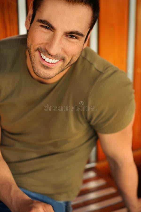 Grand sourire photographie stock libre de droits