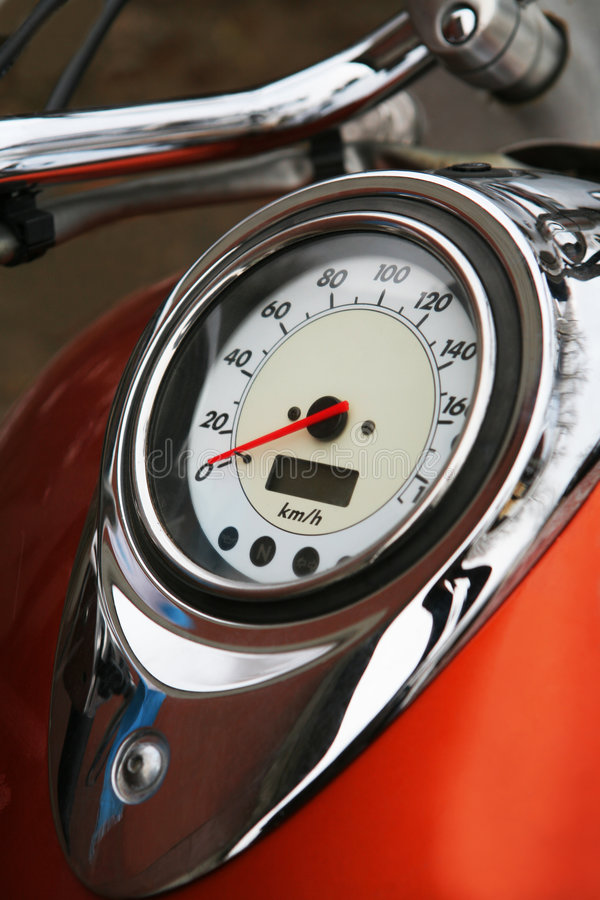 Grand speedmeter photo libre de droits