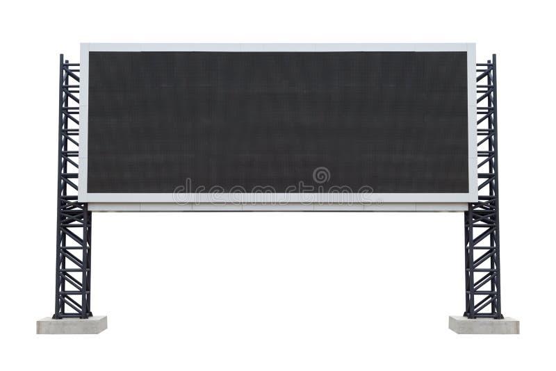 Grand stade de tableau indicateur d'isolement sur le fond blanc employez le clipp photos stock