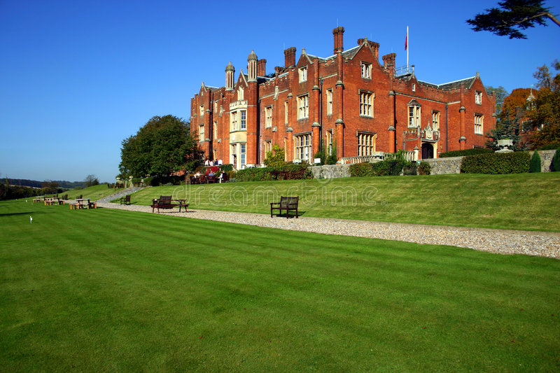 Grand Stately Home royalty free stock photography