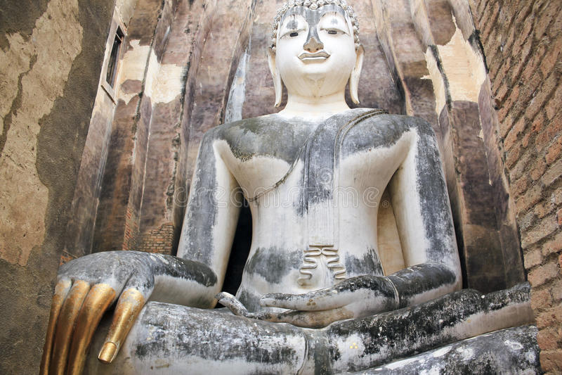 Grand sukhothai Thaïlande de statue de Bouddha photo stock
