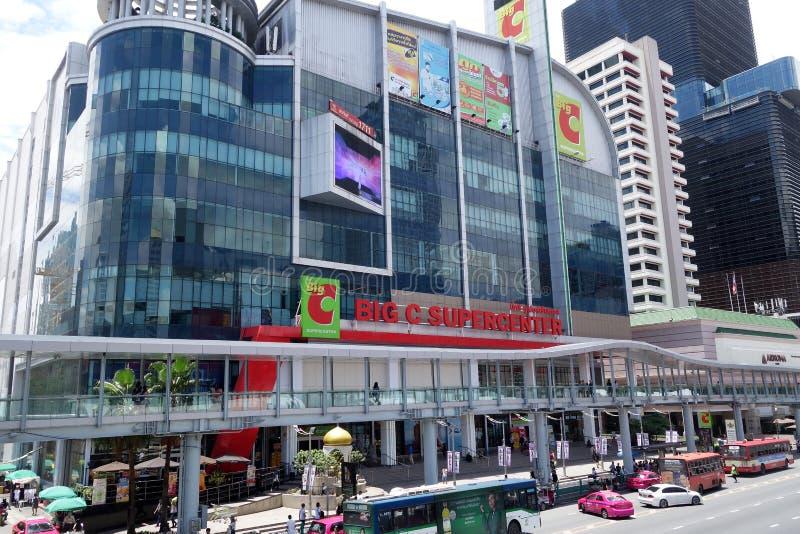 Grand supercenter de C, Bangkok images libres de droits