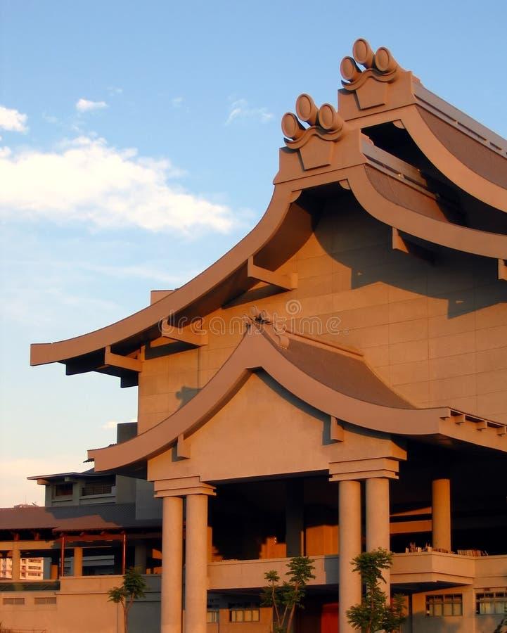 Grand temple moderne images libres de droits
