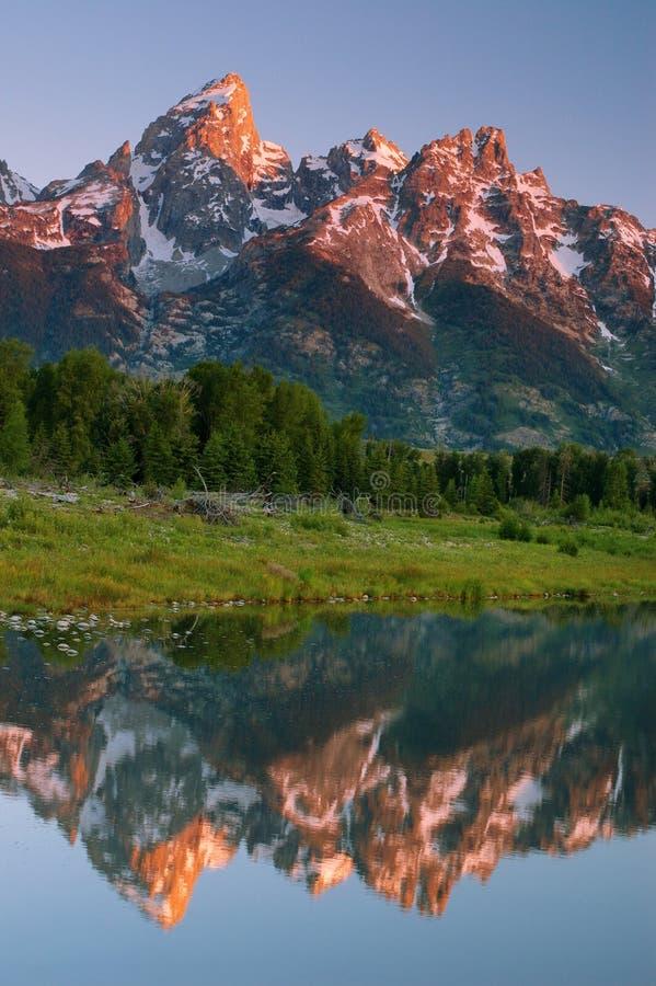 Grand Teton royalty free stock photo