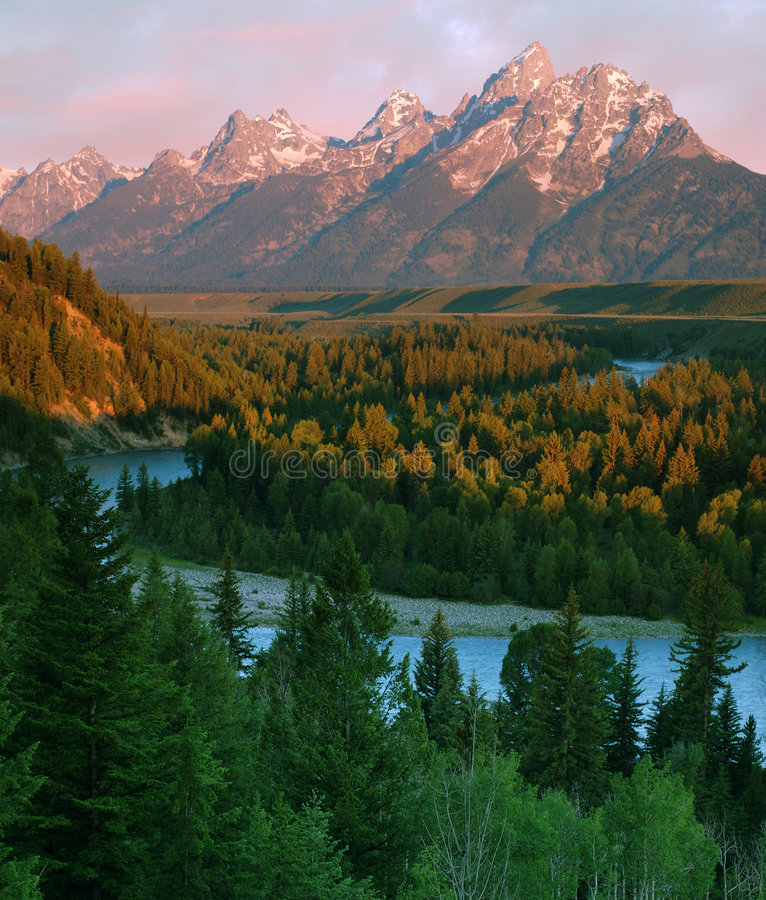 Free Grand Teton Stock Photography - 163422