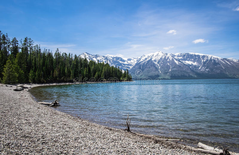 Grand Teton - Lake royalty free stock images