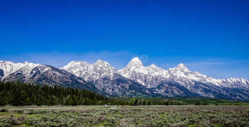 Grand Teton - Mount Teton stock image