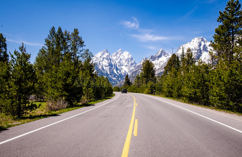 Grand Teton - Mount Teton stock photo