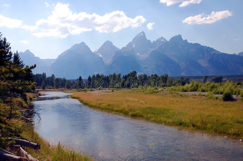 Grand Teton National Park scenery stock photos