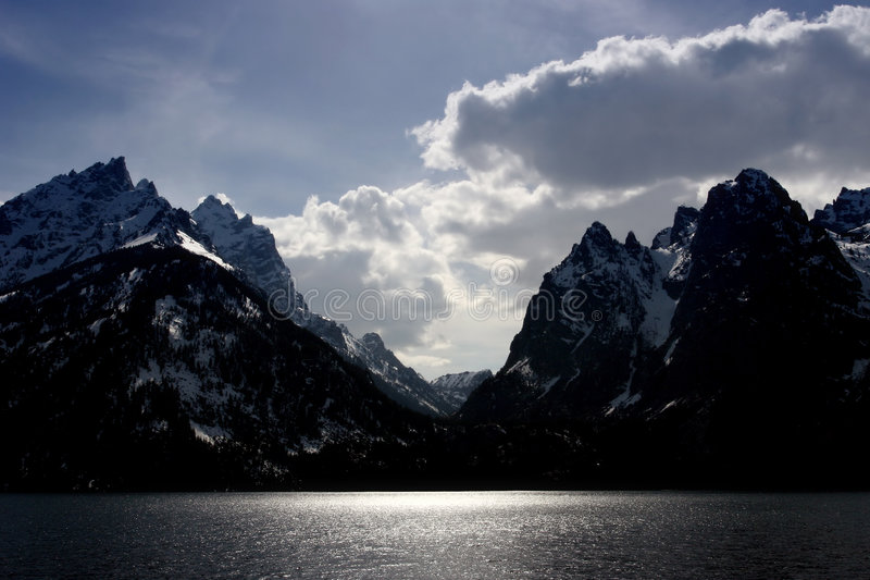 Download Grand tetons stock image. Image of landscape, scenic, reflection - 158443