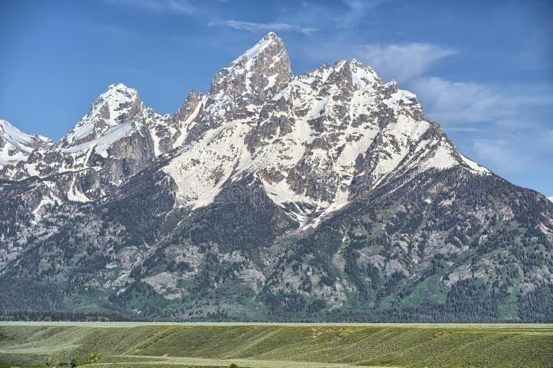 Grand Tetons. National Park, Wyoming stock photos