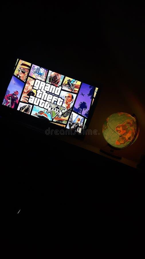 Grand Theft Auto 5 fotos de stock royalty free