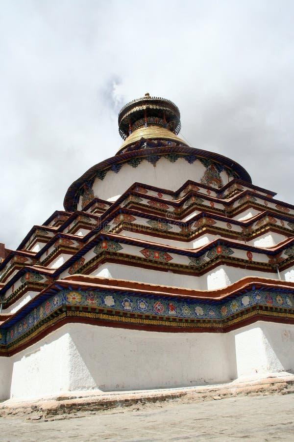 Grand tibet pagoda stock photos