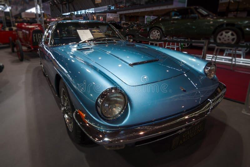 Grand Tourer Car Maserati Mistral 3700 Tipo AM109, 1967 ...