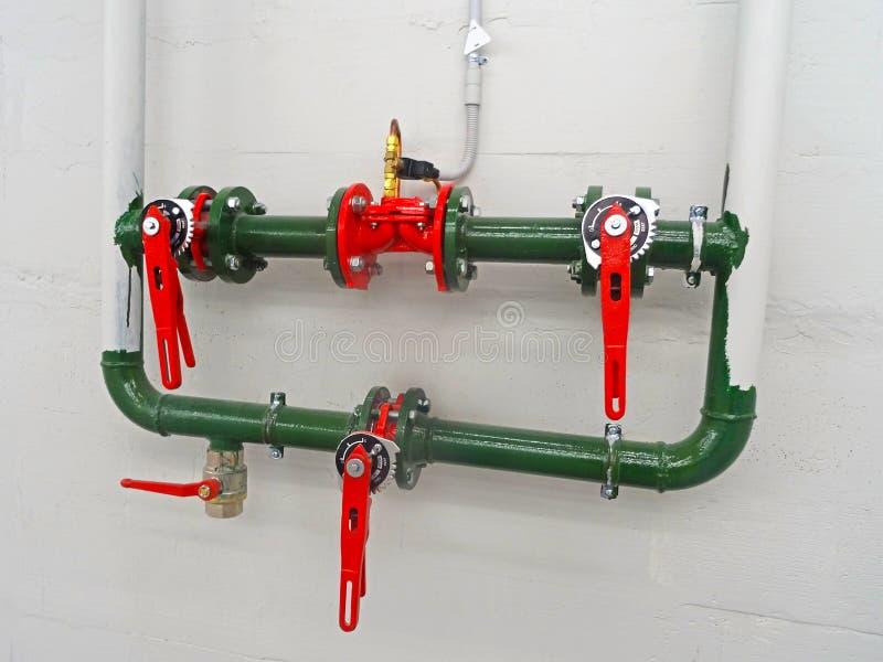 Grand traitement de l'eau industriel images stock