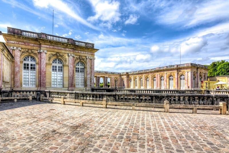 Grand Trianon in Versailles, Paris, France stock images