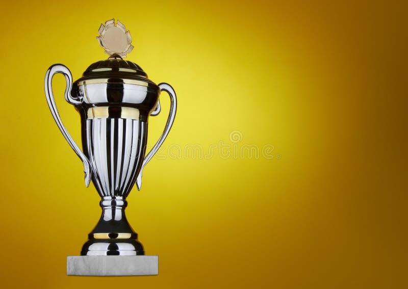 Grand trophée photos stock