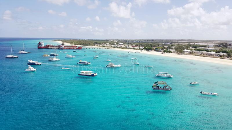 Grand Turk in the Turks and Caicos stock photo
