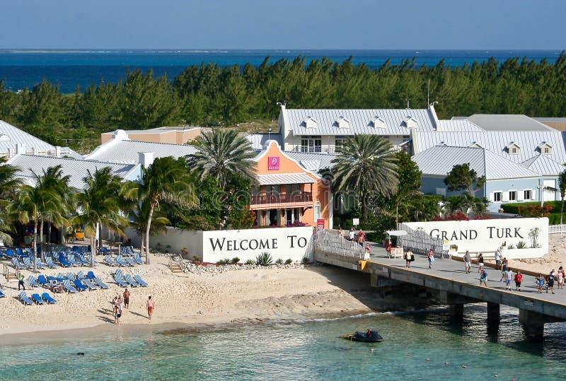 Grand Turk, Turks and Caicos stock photo