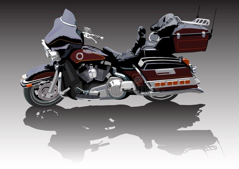 Grand vélo illustration de vecteur