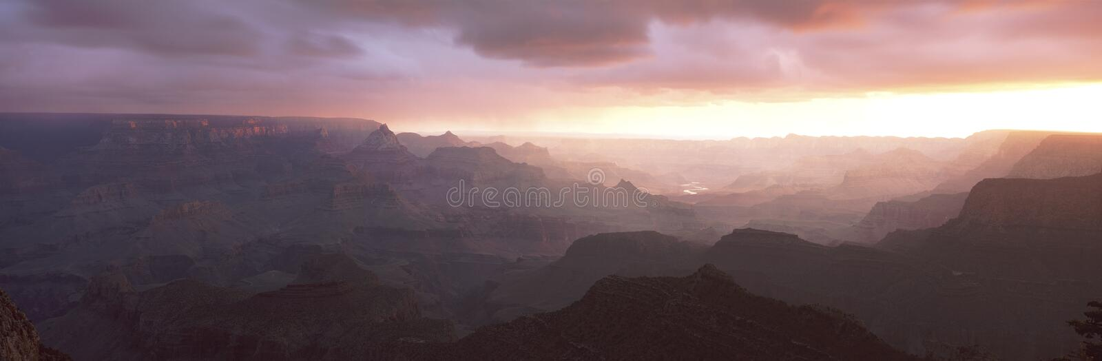 Grand View Point royalty free stock photography