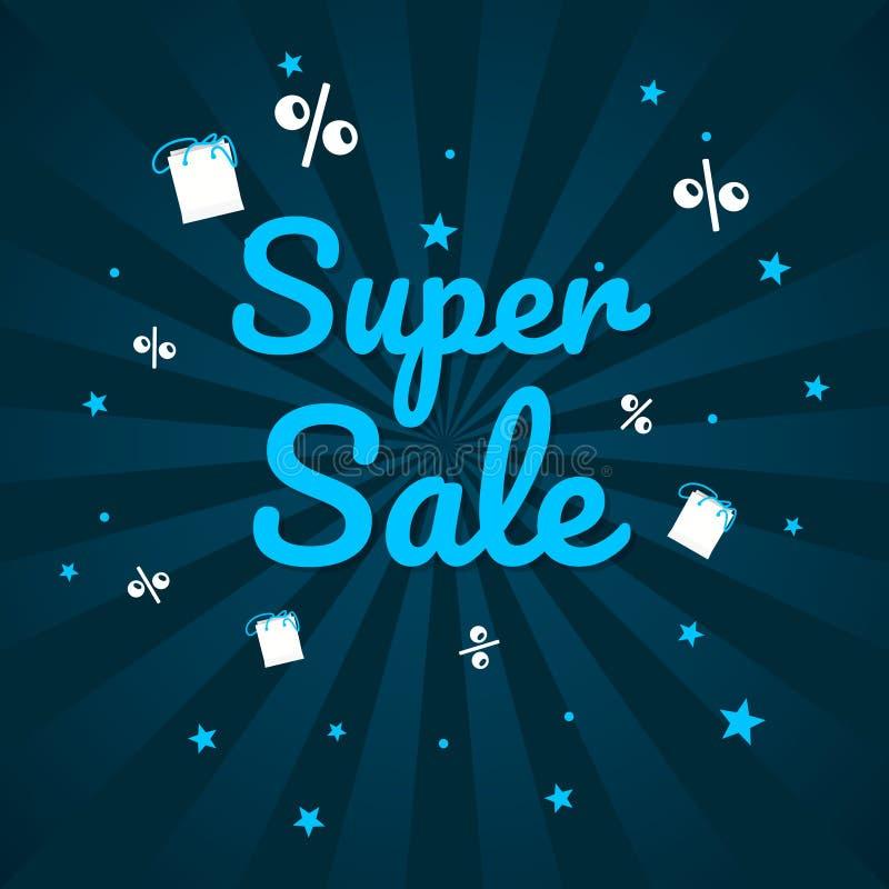 Grand week-end de vente, bannière d'offre spéciale jusqu'à 50  Illustration de vecteur illustration stock