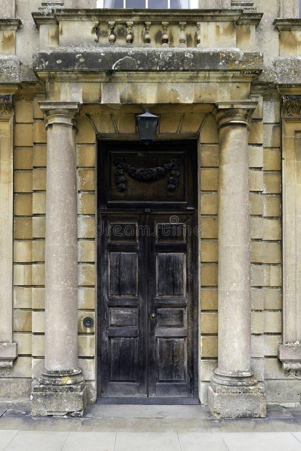 Download Grand Wooden Door Between Stone Pillars Stock Photo - Image: 44562169 & Grand Wooden Door Between Stone Pillars Stock Photo - Image: 44562169 Pezcame.Com