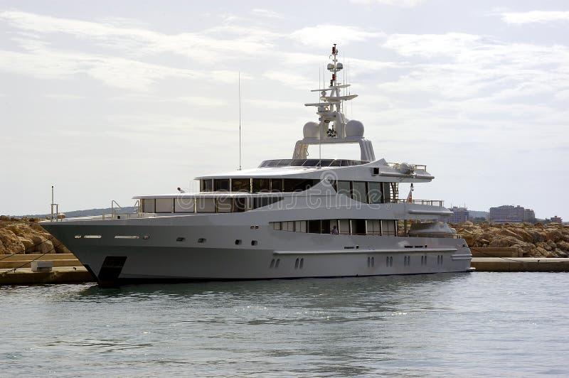 Grand yacht photos libres de droits