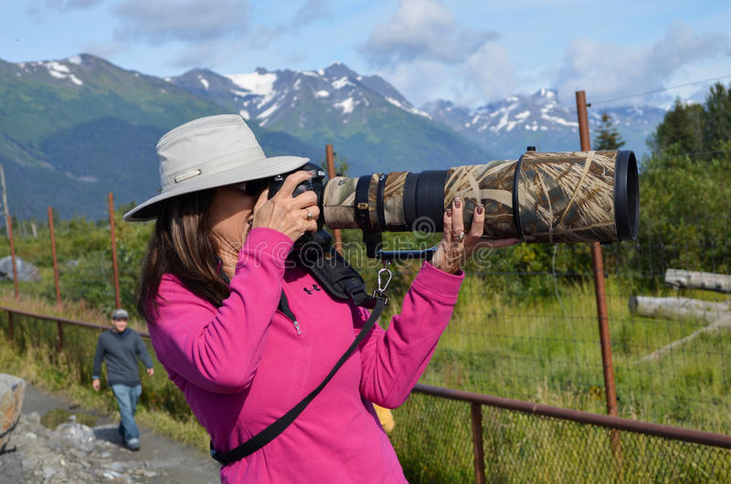 Grand zoom photographie stock libre de droits