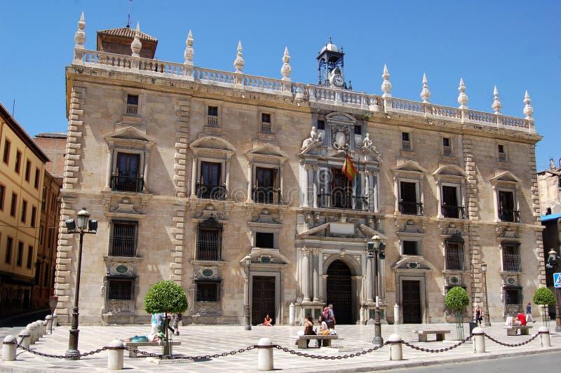 Granda, Spanien: Königliches Kanzleigericht 1530 stockfotos