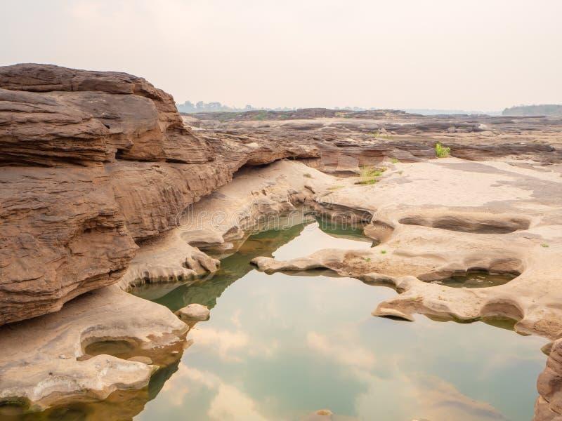 Grandcanyon av Thailand arkivbild