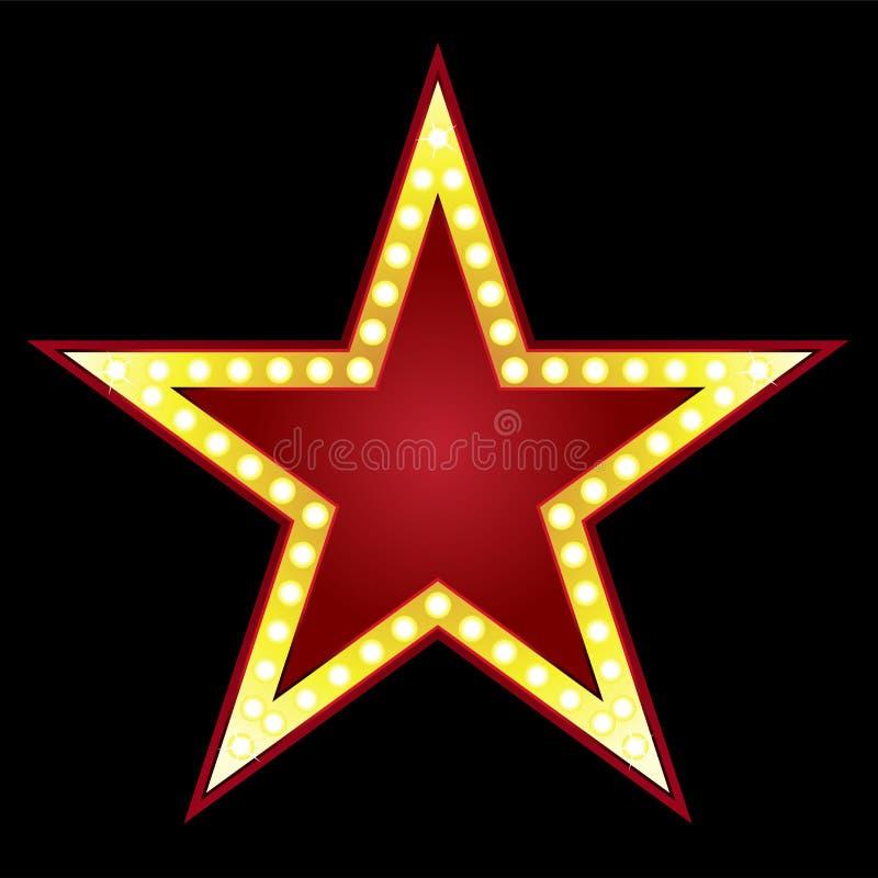 Grande étoile illustration de vecteur