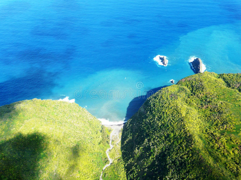 Grande île d'Hawaï photo libre de droits