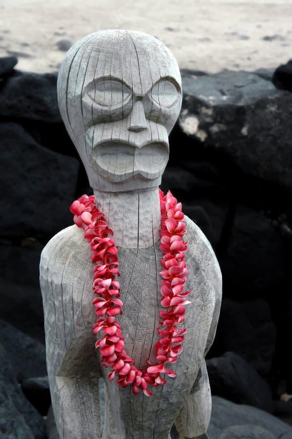 Grande île Tiki photo libre de droits