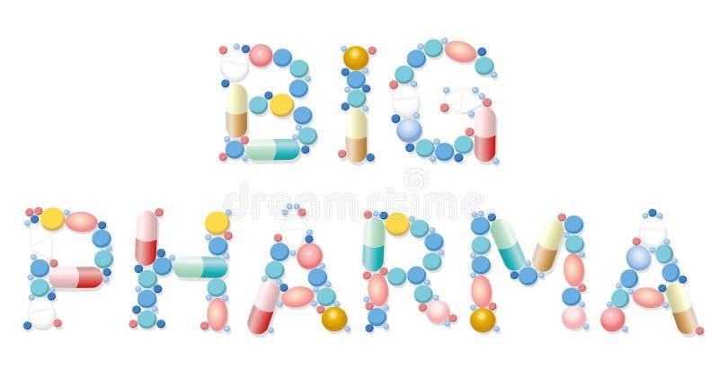 Download Grande Affare Di Salute Delle Pillole Di Pharma Illustrazione Vettoriale - Illustrazione di commercio, droghe: 117977049