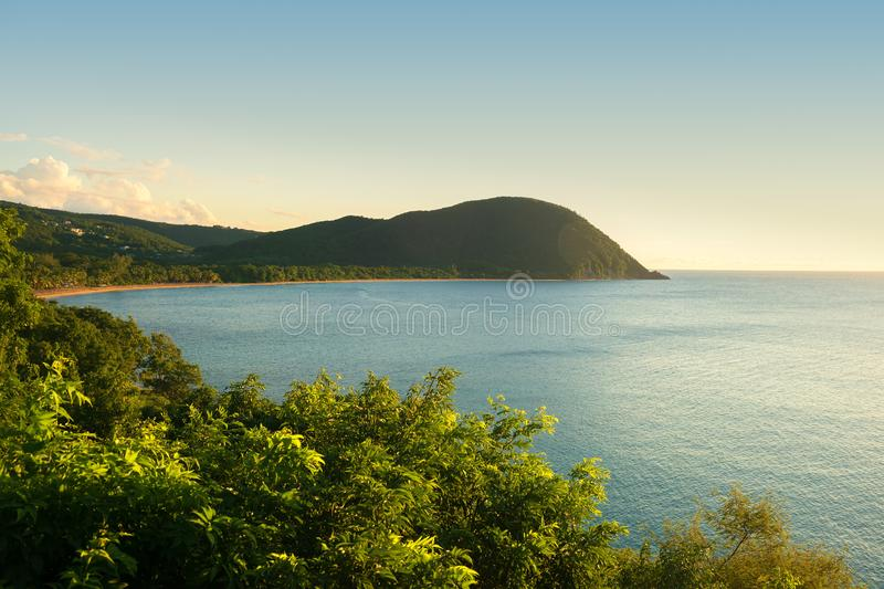 Grande anse beach,Guadeloupe, French West Indies stock images