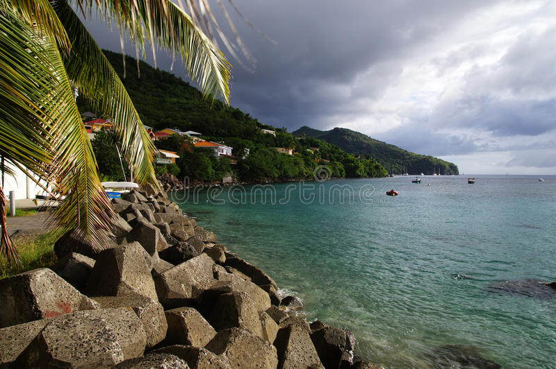 Grande Anse d`Arlet, Martinique royalty free stock image
