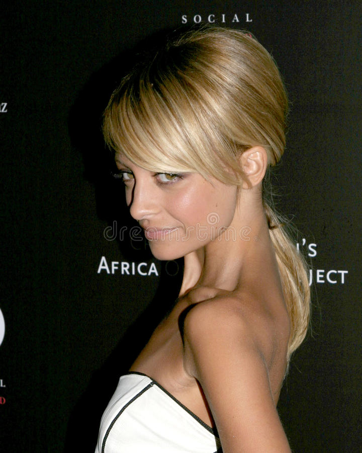 Nicole Richie immagine stock