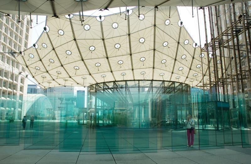 Grande Arche de la Défense fotografia de stock royalty free