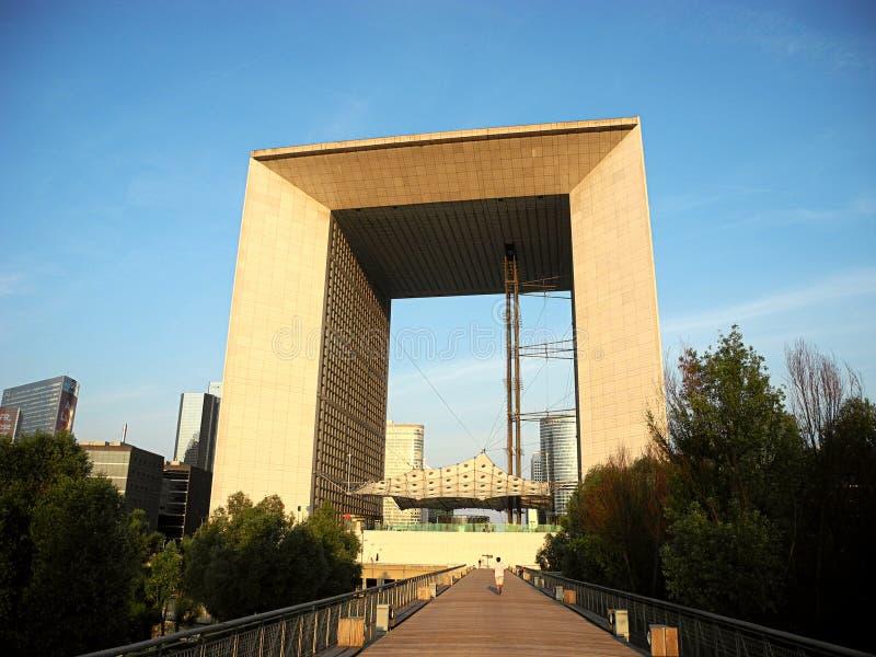 Grande Arche, Paris, Frankreich lizenzfreies stockbild