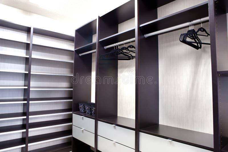 Grande armário Walk-in fotos de stock