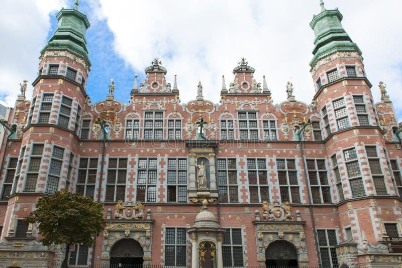 Grande armadura em Gdansk, Polônia fotografia de stock royalty free