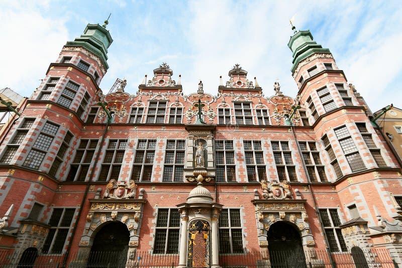 Grande arsenal em Gdansk foto de stock