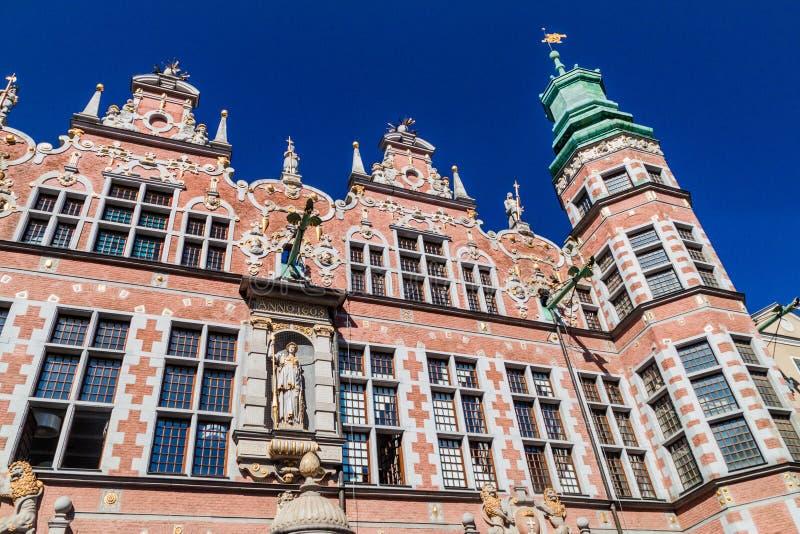 Grande arsenal em Gdansk, Pola imagens de stock royalty free